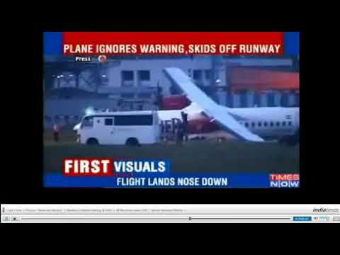 Kingfisher Airlines ATR 72-500 skids off runway at Mumbai Airport