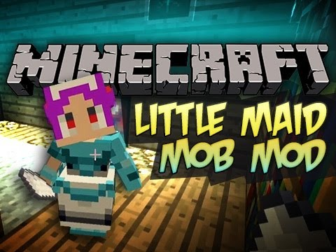 Minecraft: Little Maid Mob Mod