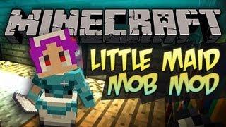 Minecraft: Little Maid Mob Mod