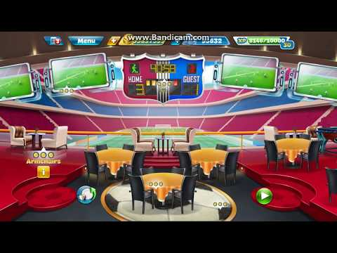 Cooking Fever Fully Upgrade Interior And Kitchen For Sports Bar