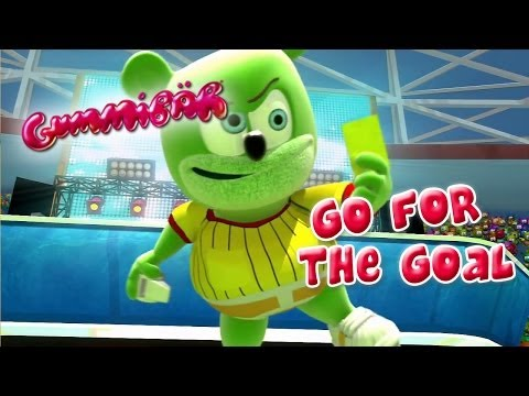 Gummibär - Go For The Goal - World Cup Soccer Song English Funny Gummy Bear USA United States