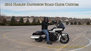 5. Custom Harley-Davidson Road Glide walkthrough, ride and review
