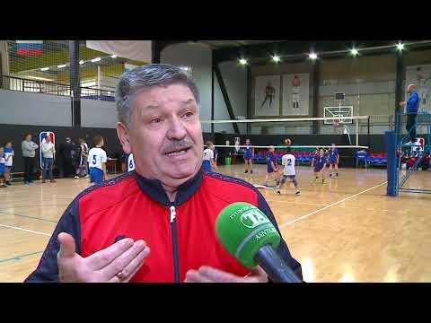 Детская волейбольная лига + вручение инвентаря молодым спортсменам!