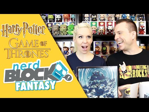 Nerd Block Classic FANTASY Box (January 2016) Unboxing Review