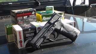 8. M&P22 Compact Ammo Test!