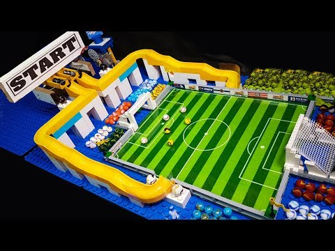Marble Soccer World Cup - Marble race Sports Football  Tournament - carrera canicas
