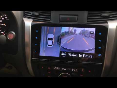 Camera 360 Oris cho xe nissan navara