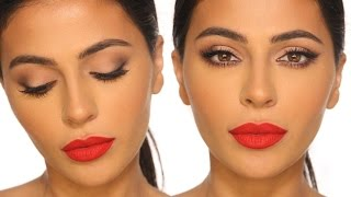 CLASSIC RED LIP MAKEUP TUTORIAL by Teni Panosian