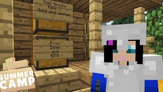 HELPING FELLOW CAMPERS! - Minecraft Summer Camp (5)