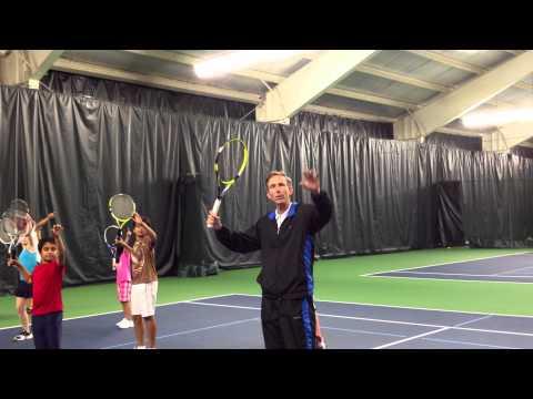 Tennis Pro, Cell Phone Overhead Tennis Video