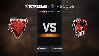 Cyberzen vs BOOT-d[S], map 1 train, StarSeries & i-League Season 6 Asia Qualifier