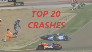 Video MOTOGP 2016 TOP 20 CRASHES MP3, 3GP, MP4, WEBM, AVI, FLV Oktober 2017