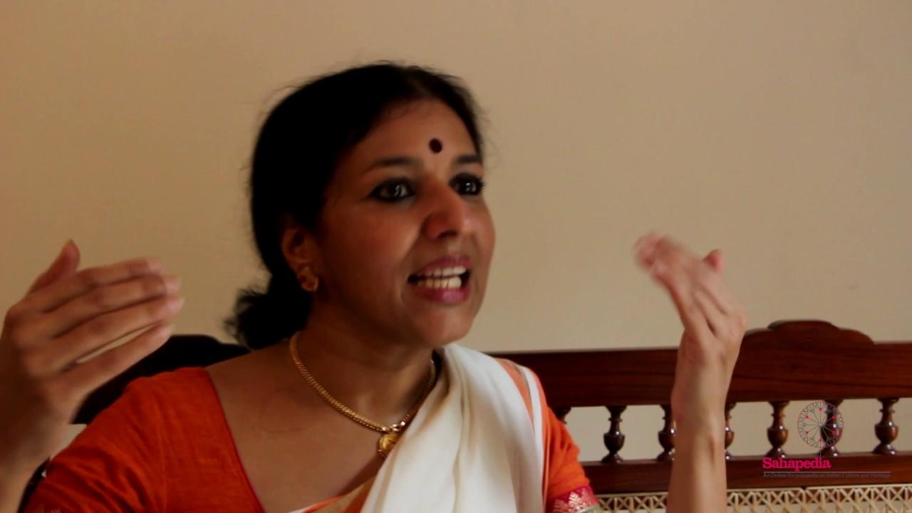 Vijayalakshmi on Mohiniyattam