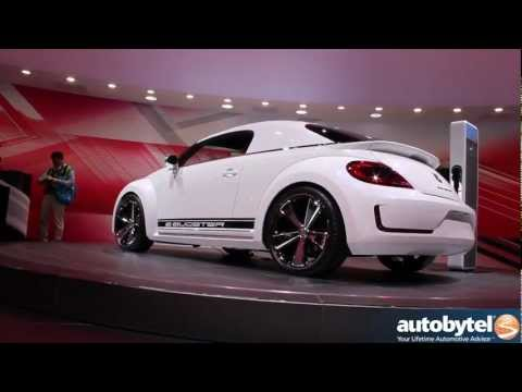 Volkswagen E-Bugster concept at the 2012 Detroit Auto Show Video