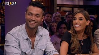 Yolanthe brengt Jan Kooijman in verlegenheid - RTL LATE NIGHT