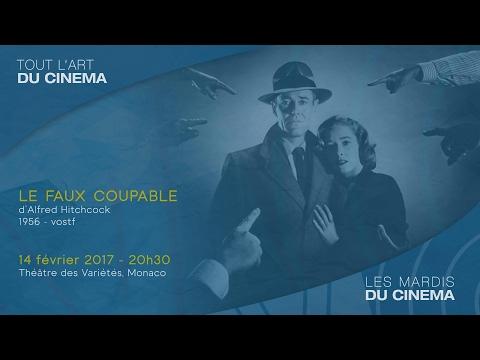 """""""Le faux coupable"""" d'Alfred Hitchcock - Mardi 14 février 2017, 20 h 30, Théatre des Variétés, Monaco"""