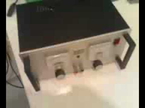 Homemade power supply (with adjustable current limitation)