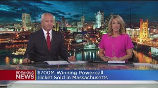 One lucky person is $758 million richer for picking the right numbers.