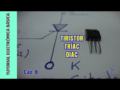 Tutorial Electrónica Básica. Cap 08. Tiristores, el Diac, el Triac