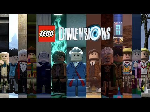 LEGO Dimensions: How to Unlock all The Doctors