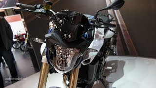 10. 2015 BMW F800R, up-close at 2014 EICMA Milan Motorcycle Show