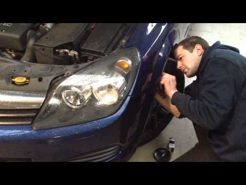 comment demonter un phare opel vectra c