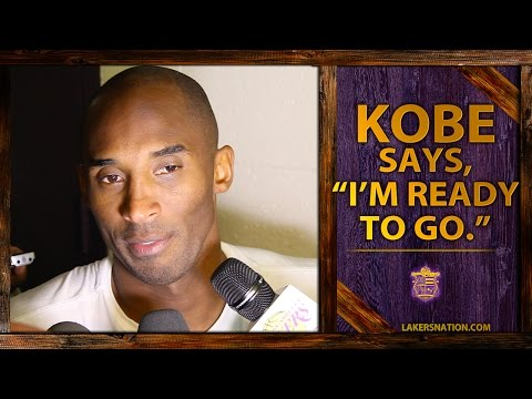 lakers - Kobe Bryant says having Byron Scott coach is 'fantastic.' Plus, says he feels great and is ready to go. And, talks about the serious side of Nick Swaggy P Young. Join the Largest Lakers Fan...