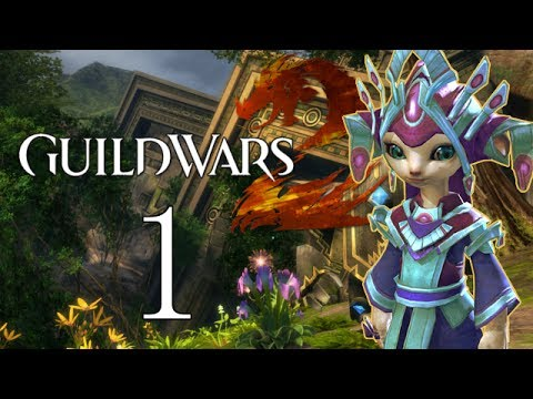 Guild Wars 2 Let's Play 1 (Guild Wars 2 Gameplay/Commentary)