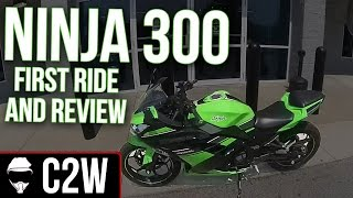 9. Ninja 300 - First Ride and Review