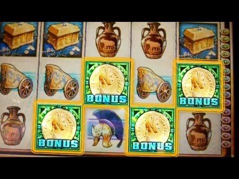 Roman Dynasty  Live Bonuses + Retrigger - 5c Wms Video Slots