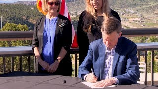 Governor Hickenlooper Signs Teacher Bill in Durango