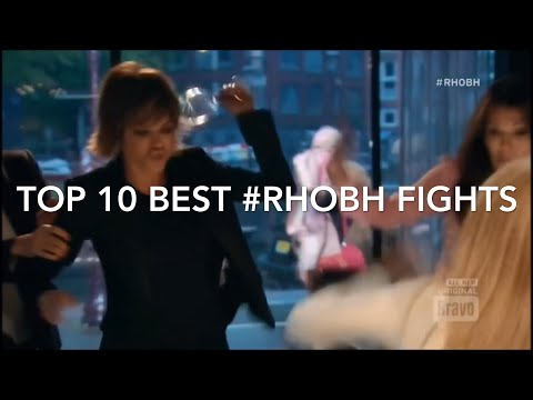 Best Housewives Fights | (Episode 5) | Top 10 Best #RHOBH Fights from (Seasons 1-9)