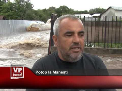 Potop la Mănești