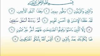 Surat At-Tin  95 سورة التين- Children Memorise - kids Learning quran