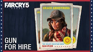 Far Cry 5: Grace Armstrong – Gun For Hire | Character Spotlight