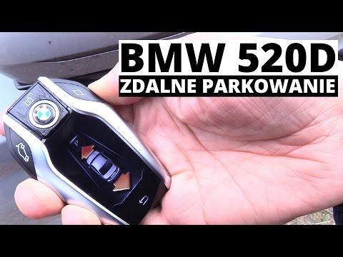 Zdalne parkowanie w BMW 520d