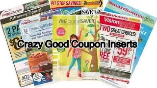 Crazy good Coupon Inserts for 1/1/2017!! 5 Inserts~ Extreme Couponing! Link to Cottonelle Coupon~ Print ASAP (even though it...