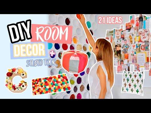 Decoracion de uñas - 20 DIYs para decorar tu habitación + STUDIO TOUR