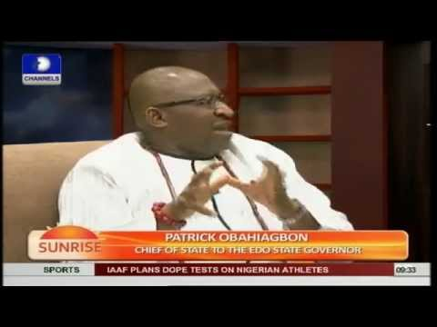 Rivers Crisis: These Issues Are Bringing Calamitous End For Nigeria - Obahiagbo Pt1