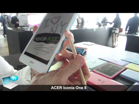 ACER Iconia One 8 (2015) with Precision Plus