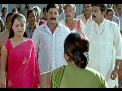 Badradri Full Movie Scenes - Gajala reveals that Baladhitya has already died - Nikitha, Raja