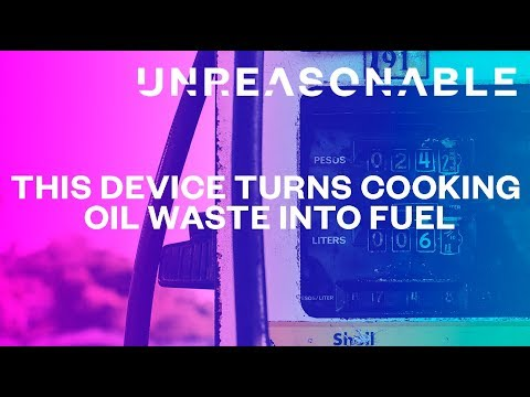 This Device Turns Cooking Oil Waste Into Fuel | Green Fuels