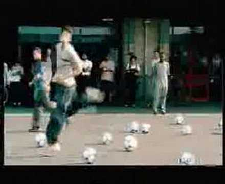 Adidas Commercial with Zidane, Del Piero and Kluivert
