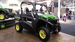 9. 2018 John Deere Gator RSX 860 i Side by Side ATV - Walkaround - 2017 Toronto ATV Show