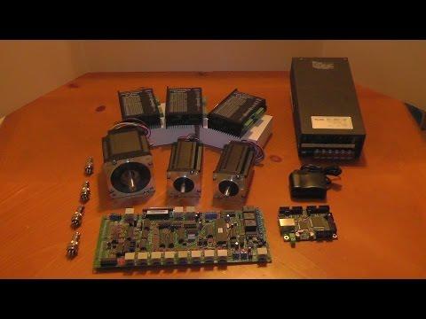 CNC Electronics Unboxing