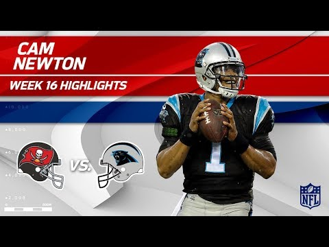 Video: Cam Newton Highlights | Buccaneers vs. Panthers | NFL Wk 16 Player Highlights