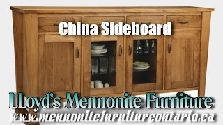 Mennonite China Sideboard