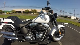 6. 2016 Harley Davidson FatBoy - Test Ride & Review - Terminator Bike ! - South San Francisco
