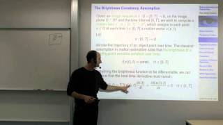 Variational Methods For Computer Vision - Lecture 16 (Prof. Daniel Cremers)