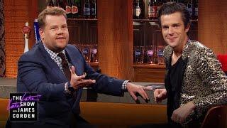<b>Brandon Flowers</b> & James Talk At The Bar